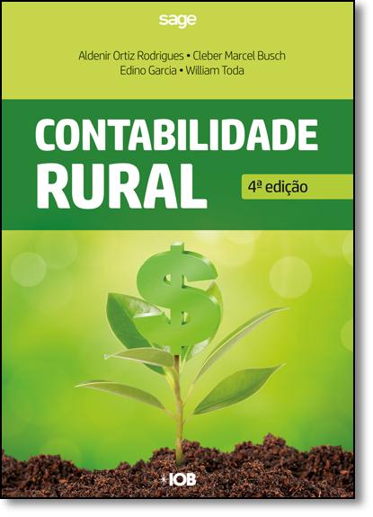 Contabilidade Rural, livro de Aldenir Ortiz Rodrigues