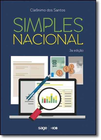 Simples Nacional, livro de Cleônimo dos Santos