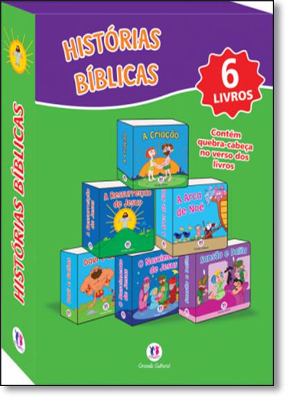 Box Histórias Bíblicas - 6 Volumes, livro de Ciranda Cultural