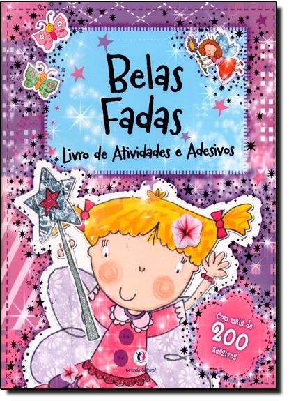 Belas Fadas - Coleção Livro de Atividades e Adesivos, livro de Ciranda Cultural