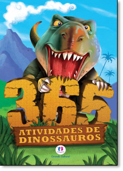 365 Atividades de Dinossauros, livro de Ciranda Cultural