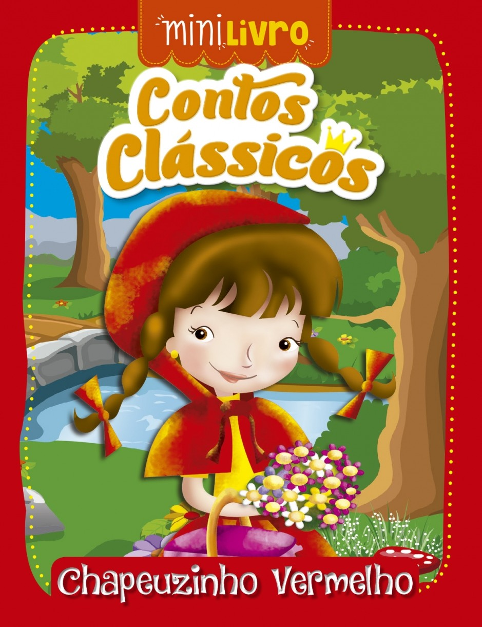 Contos Clássicos: Chapeuzinho Vermelho - Coleção Minilivros, livro de Ciranda Cultural