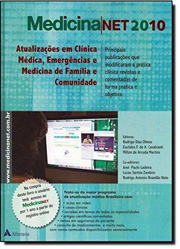 Medicinanet 20: Atualizaçoes em Clinica Medica, livro de Euclides Cavalcanti