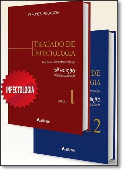 Tratado de Infectologia - 2 Volumes, livro de Roberto Focaccia