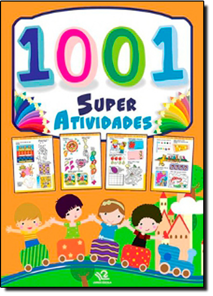 1001 Super Atividades, livro de Sanjay Dhiman
