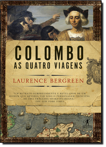 Colombo: As Quatro Viagens, livro de Laurence Bergreen