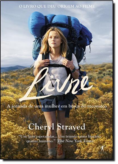 Livre: A Jornada de Uma Mulher em Busca do Recomeço - Capa do Filme, livro de Cheryl Strayed