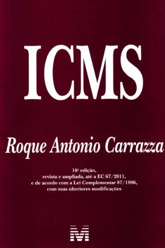 ICMS, livro de Roque Antonio Carraza