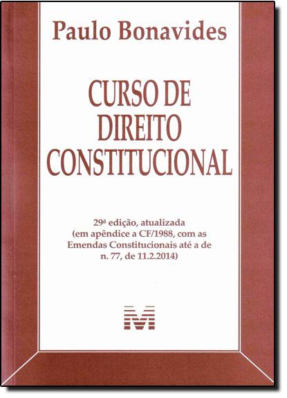 Curso de Direito Constitucional - 2014, livro de Alexandre Fernandes Silva