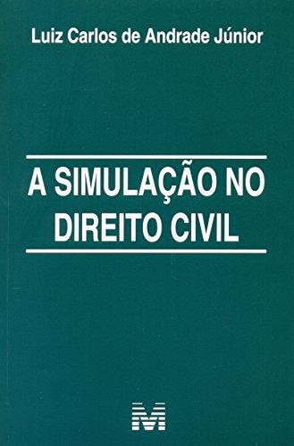 Simulacao No Direito Civil, A, livro de Luiz Carlos de Andrade Junior