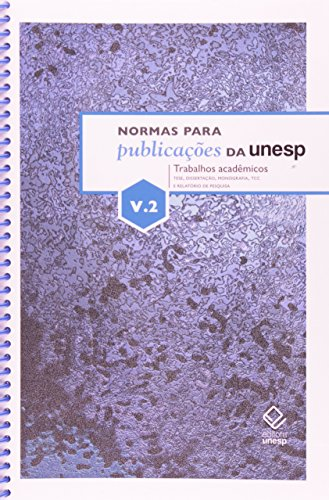 Normas para publicações da Unesp V.2, livro de Editora Unesp