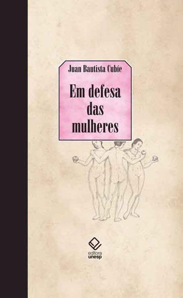 Em defesa das mulheres, livro de Juan Bautista Cubíe