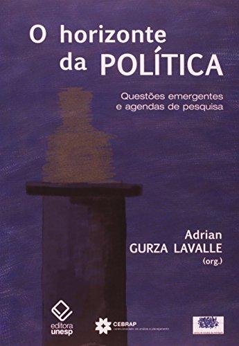 Horizonte da Política, O, livro de Adrian Gurza Lavalle