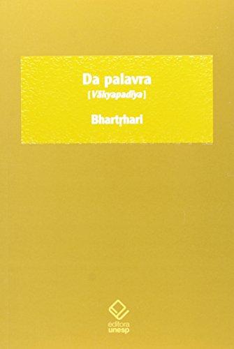 Da Palavra, livro de Bhartrhari