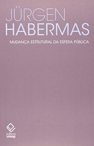 Mudança Estrutural da Esfera Publica, livro de Jurgen Habermas