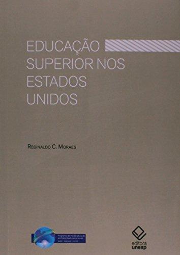 Educação Superior nos Estados Unidos, livro de Reginaldo C. Moraes