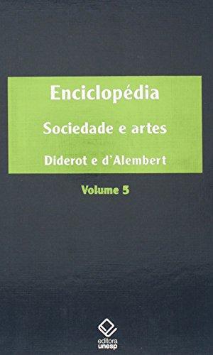 Enciclopédia - volume 5, livro de Denis Diderot, Jean le Rond d´Alembert