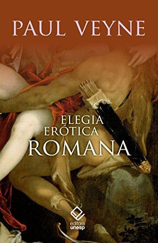 capa do livros Elegia erótica romana