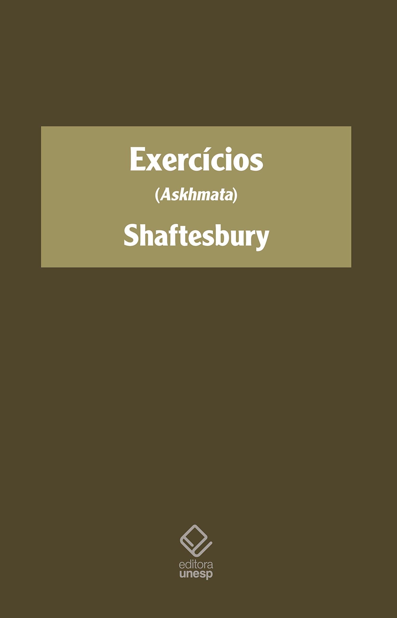 Exercícios - (Askhmata), livro de Shaftesbury