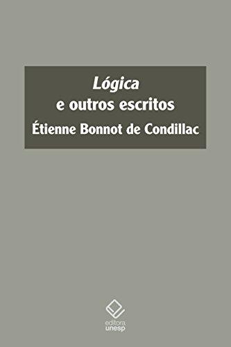 Lógica e Outros Escritos, livro de Étienne Bonnot de Condillac