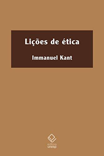Lições de Ética, livro de Immanuel Kant