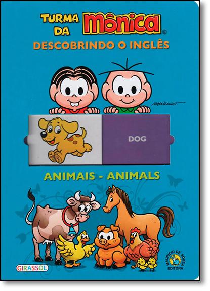 Turma da Mônica: Descobrindo o Inglês, livro de Mauricio de Sousa