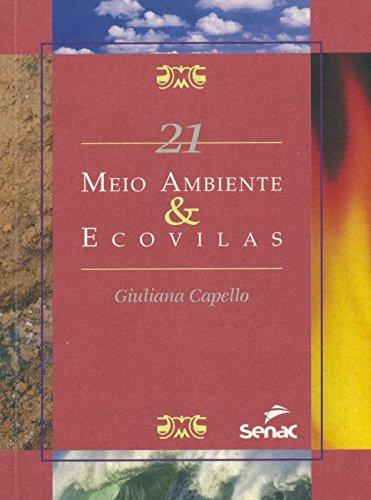 MEIO AMBIENTE & ECOVILAS SMA 21, livro de CAPELLO, GIULIANA