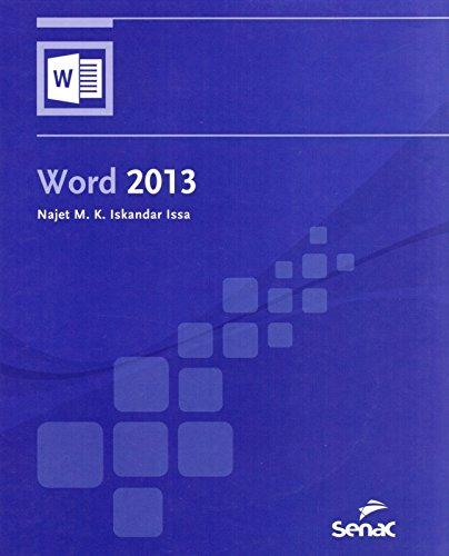 Word 2013, livro de Najet M. K. Iskandar Issa