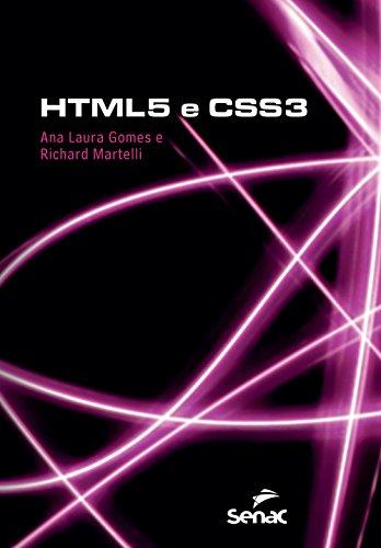HTML e CSS3, livro de Ana Laura Gomes, Richard Martelli