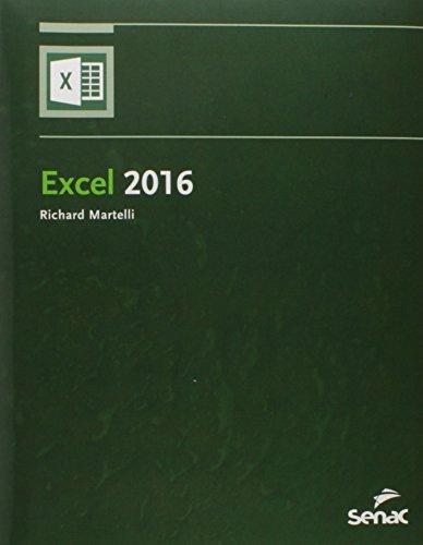 Excel 2016, livro de Richard Martelli