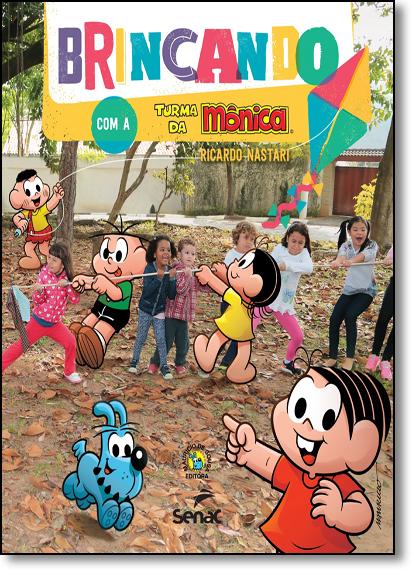 Brincando com a Turma da Mônica, livro de Mauricio de Sousa