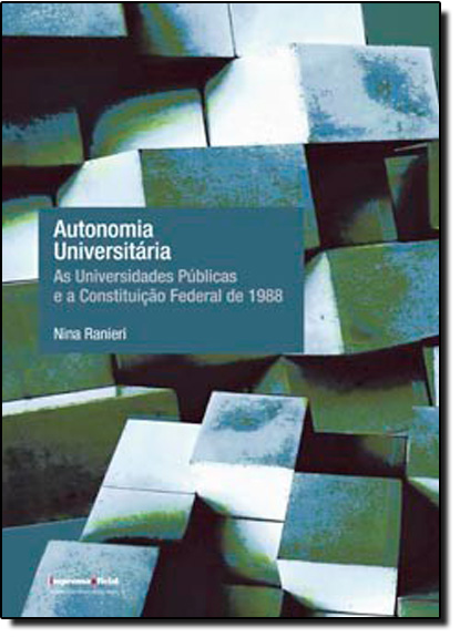 Autonomia Universitária, livro de Nina Ranieri