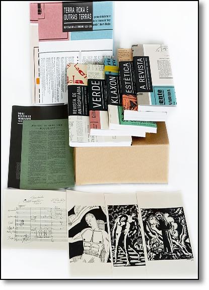 Revistas do Modernismo: 1922-1929 SEM CAIXA, livro de Pedro Puntoni e Samuel Titan Jr  - organizadores