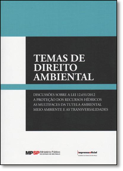 Temas de Direito Ambiental, livro de Vários