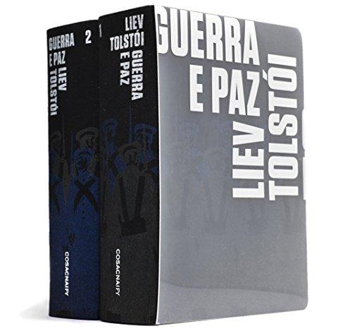 Guerra e Paz (2 volumes), livro de Liev Tolstói
