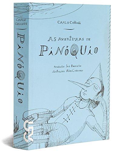 As aventuras de Pinóquio: história de um boneco - brochura, livro de Carlo Collodi, Alex Cerveny