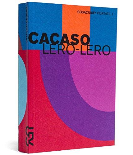Lero-lero (Portátil 1), livro de Cacaso