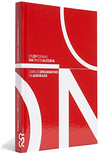Os 25 poemas da triste alegria, livro de Carlos Drummond de Andrade