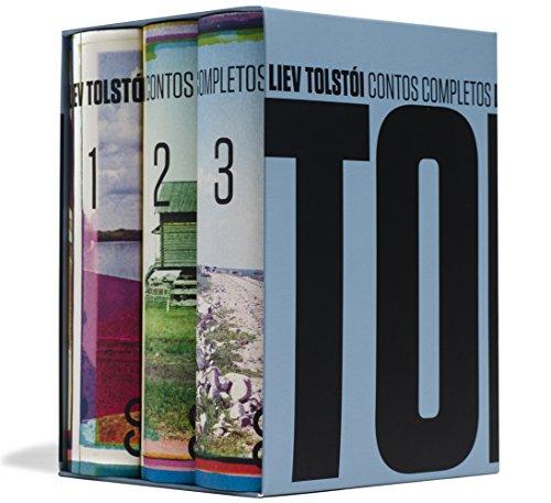 capa do livros Contos completos - Liev Tolstói