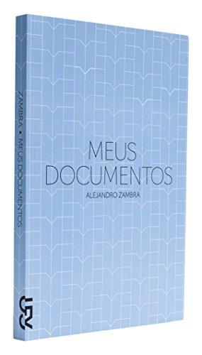 Meus documentos, livro de Alejandro Zambra