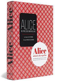 Caixa Alice + Alice [No país das maravilhas + Através do espelho], livro de Lewis Carroll