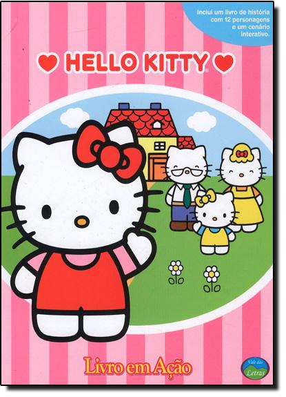 Hello Kitty - Coleção Livros em Ação - Acompanha 12 Miniaturas, livro de Vale das Letras