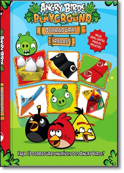 Angry Birds Playground - Dobraduras Iradas, livro de Editora Vale das Letras