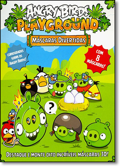 Angry Birds Playground - Máscaras Divertidas, livro de Editora Vale das Letras