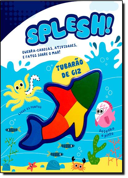 Splesh! Desafios, Atividades e Fatos Sobre o Fundo do Mar, livro de Vale das Letras