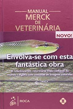 Manual Merck de veterinária - 10ª edição, livro de Merck