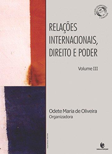 Relações Internacionais, Direito e Poder - Vol.3, livro de