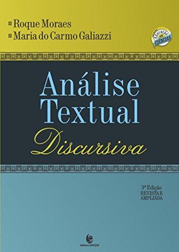 Análise Textual Discursiva, livro de Roque Moraes
