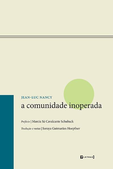 A comunidade inoperada, livro de Jean Luc Nancy
