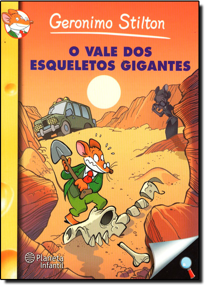 Vale dos Esqueletos Gigantes, O, livro de Geronimo Stilton